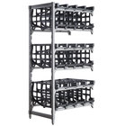 Cambro EA243672C96580 Camshelving® Elements Full-Size Stationary Add-On #10 Can Rack Unit