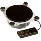 Rosseto SMM013 Multi-Chef 8 3/4 inch x 8 3/4 inch Induction Warmer with Magnets - 220/240V, 600W