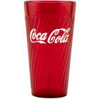 GET 2232-RC Coca-Cola® Tahiti 32 oz. Red SAN Plastic Tumbler - 72/Case