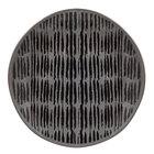 World Tableware AFAR-3G Afar 8 5/8 inch Gray Stoneware Salad Plate - 12/Case