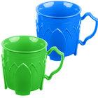 Dinex DX5000413 Fenwick 8 oz. Blue / Green Insulated Mug Combo   - 48/Case