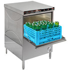 CMA Dishmachines 1665.72 180UC High Temperature Undercounter Dishwasher with 16-Compartment Wine Bottle Washer Rack