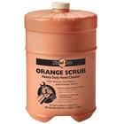 Kutol Pro 4907 Orange Scrub Heavy-Duty Hand Soap, 1 Flat Top Gallon - 4/Case