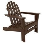 POLYWOOD AD5030MA Mahogany Classic Folding Adirondack Chair