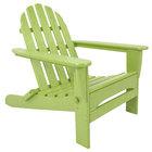 POLYWOOD AD5030LI Lime Classic Folding Adirondack Chair