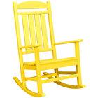 POLYWOOD R100LE Lemon Presidential Rocking Chair