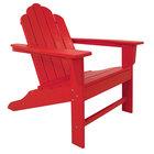 POLYWOOD ECA15SR Sunset Red Long Island Adirondack Chair