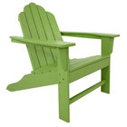POLYWOOD ECA15LI Lime Long Island Adirondack Chair