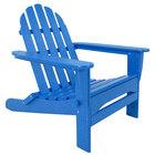 POLYWOOD AD5030PB Pacific Blue Classic Folding Adirondack Chair