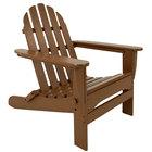 POLYWOOD AD5030TE Teak Classic Folding Adirondack Chair