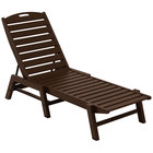 POLYWOOD NAC2280MA Mahogany Nautical Folding Adjustable Chaise