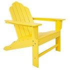 POLYWOOD ECA15LE Lemon Long Island Adirondack Chair