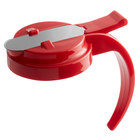 Vollrath 614T-02 Dripcut® Red Plastic Top for 14 and 16 oz. Syrup Servers