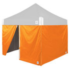 E-Z Up SWHV410BOR Hi-Viz 10' Bright Orange Sidewall - 4/Set