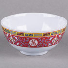 Thunder Group 3004TR Longevity 12 oz. Round Melamine Rice Bowl - 12/Case