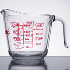 Anchor Hocking 55177AHG18 16 oz. (1 Pint) Glass Measuring Cup