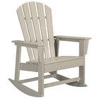 POLYWOOD SBR16SA Sand South Beach Rocking Chair