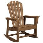 POLYWOOD SBR16TE Teak South Beach Rocking Chair
