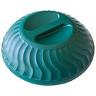 Dinex DX340008 Turnbury Hunter Green Insulated Meal Delivery Dome for 9 inch Plate - 12/Case