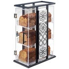 Cal-Mil 4022-85 Granada 3 Tier Melamine Tile Bread Display Case - 14 3/4 inch x 6 3/4 inch x 20 1/2 inch