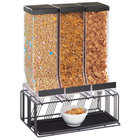 Cal-Mil 4108-13 Portland 3 Compartment Cereal Dispenser - 16 inch x 9 inch x 23 1/2 inch