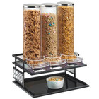 Cal-Mil 4024-85 Granada 3 Compartment Cereal Dispenser - 17 1/8 inch x 13 1/4 inch x 24 inch