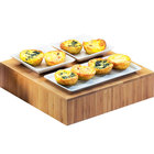 Cal-Mil 432-3-60 12 inch x 3 inch Bamboo Square Riser