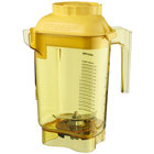 Vitamix 58989 Advance 48 oz. Yellow Deluxe Tritan Copolyester Blender Jar with Wet Blade Assembly and Lid for Vitamix Blenders