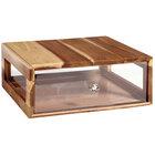 GET Enterprises Urban Renewal BB-RECT-14-UR Urban Rustic 14 3/4 inch x 12 3/4 inch x 5 inch Stackable Rectangular Bread Box