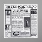 GET Enterprises 4-TY1200 White 12 inch x 12 inch New York Newsprint Liner - 1000/Case