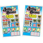 Tabco 5395 Jelly Beans 5 Window Pull Tab Tickets - 1660 Tickets per Deal - Total Payout: $1160