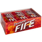 Dentyne Fire Spicy Cinnamon Sugar-Free Gum 16-Piece Pack - 162/Case