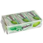 Purely Trident Spearmint Sugar-Free Gum 14-Piece Pack - 144/Case
