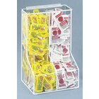 Cal Mil 925 2 12 inch x 8 1/2 inch Clear Bin Condiment Packet Holder