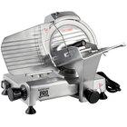 "Backyard Pro SL109E Butcher Series 9"" Manual Gravity Feed Meat Slicer - 120V"