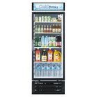 Turbo Air TGM-22RV 29 inch White Single Glass Door Merchandising Refrigerator