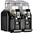 Fetco by Elmeco BB2 Big Biz Black Double 1.5 Gallon Frozen Beverage Machine - 120V, 540W