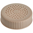 Vollrath 4906-32 Traex® Dripcut® Beige Shaker Lid for Medium Ground Product