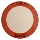 Sasa Demarle SILPAT® AH197-01 8 inch Round Silicone Non-Stick Baking Mat