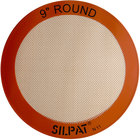 Sasa Demarle SILPAT® AH222-01 9 inch Round Silicone Non-Stick Baking Mat