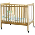 Whitney Brothers WB9504 40 inch x 27 inch x 37 inch I-See-Me Infant Crib