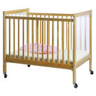 Whitney Brothers WB9503 40 inch x 27 inch x 37 inch Clear View Infant Crib
