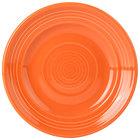 Tuxton CPA-062 Concentrix 6 1/4 inch Papaya China Plate - 24/Case