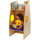 """Whitney Brothers WB0240R Children's Wood Alone Zone with Book Storage - 23 1/2"""" x 27 1/2"""" x 48"""""""