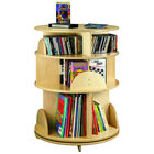 Whitney Brothers WB0503R 3-Level Children's Wood Multimedia Carousel
