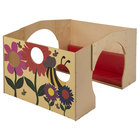 """Whitney Brothers WB0250P Children's Wood Reading Haven with Whimsical Cut-Out Design - 50 1/2"""" x 43"""" x 33"""""""