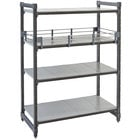 Cambro ESR2154151 Full Shelf Rail Kit for 21 inch x 54 inch Cambro Camshelving® Elements Stationary or Mobile Units
