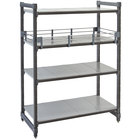 Cambro ESR1460151 Full Shelf Rail Kit for 14 inch x 60 inch Cambro Camshelving® Elements Stationary or Mobile Units