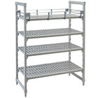 Cambro CPR2436151 Full Shelf Rail Kit for 24 inch x 36 inch Cambro Camshelving® Premium Stationary or Mobile Units