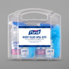 Purell&#174&#x3b; 3841-01-CLMS Body Fluid Spill Kits with Clamshell Case   - 2/Pack